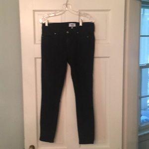 Paige Verdugo Black Ankle jeans
